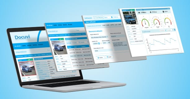 software de gestión de documentación del vehículo