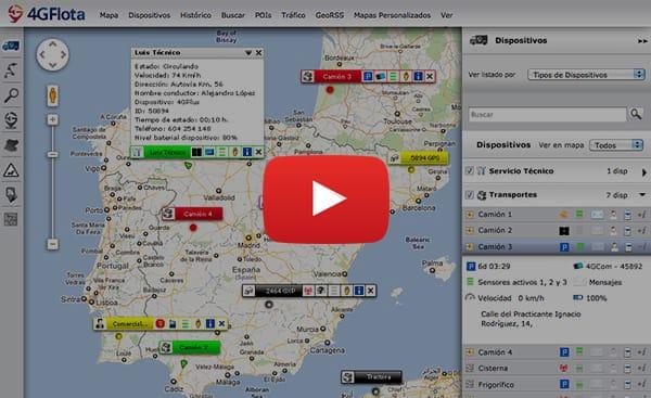 software de gestión de flotas